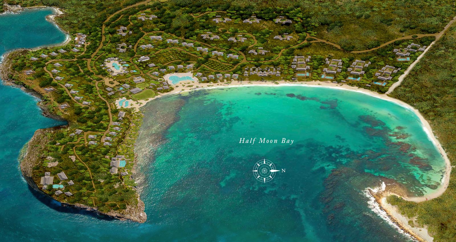 half moon bay antigua estates